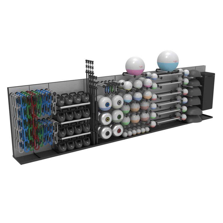 Reax Storage Wall Configuration